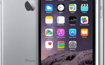 Programme de remplacement de l'appareil photo iSight pour l'iPhone 6 Plus